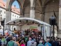Bigband Dachau | Streetlife Festival 2016 | Odeonsplatz München | © Josef Salvermoser