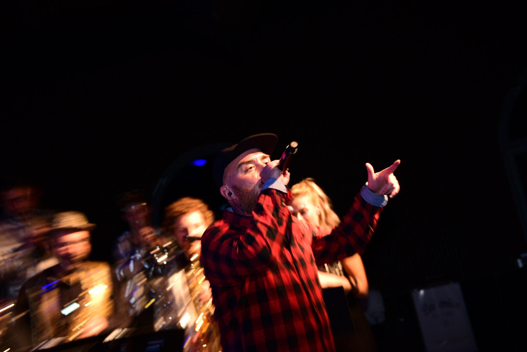 Bigband Dachau ft. MIQ + Grämsn | The Big Swag Night | 25. Oktober 2018, Ampere München | Foto: Robert Haas