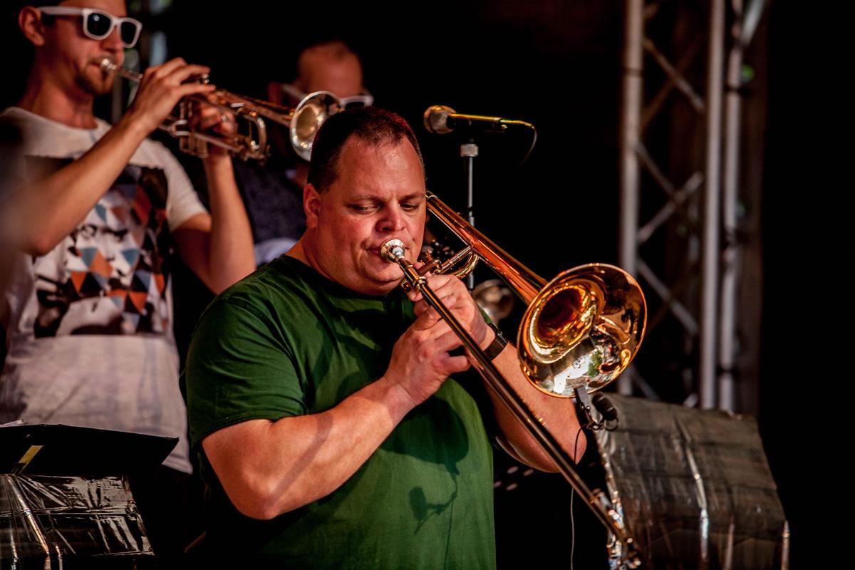 Bigband Dachau | Jazz in allen Gassen, Dachau | 05. Juni 2015 | © Sepp Salvermoser