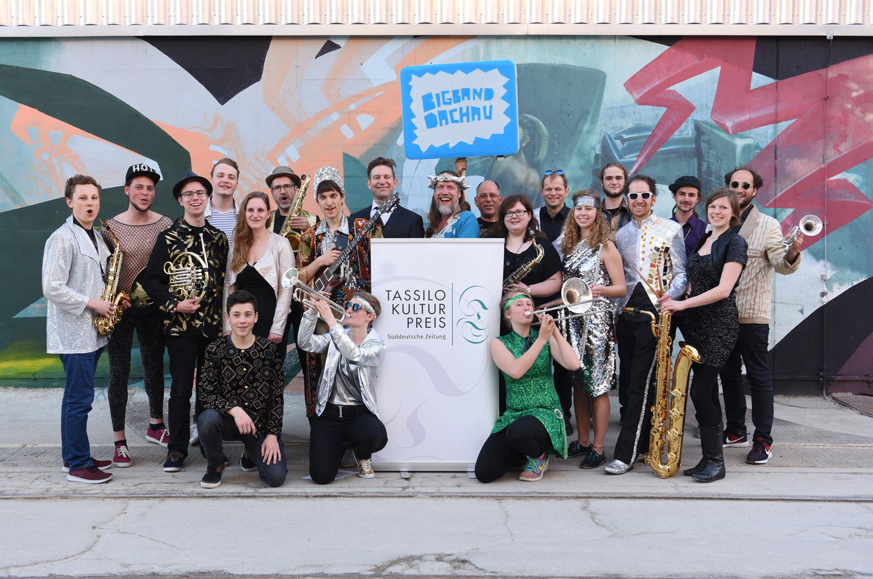 München, 18.4.2018 / Foto: Robert Haas / Preisverleihung Tassilo 2018 / Hauptpreis Bigband Dachau