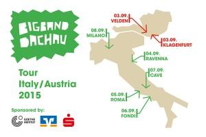 Tour Österreich / Italien 2015